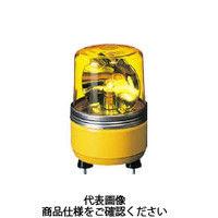 パトライト(PATLITE) SKH-EA型 小型回転灯 Φ100 黄 SKH-24EA Y 1個 100-4662 (直送品)