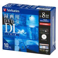 片面2層録画用DVD-R 215分 2-8倍速 VHR21HDSP10 1パック(10枚入) 三菱ケミカルメディア