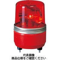 パトライト(PATLITE) SKH-EA型 小型回転灯 Φ100 赤 SKH-200EA R 1個 100-4719 (直送品)