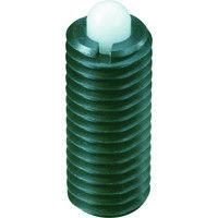 イマオコーポレーション(IMAO) スプリングプランジャー(重荷重用・樹脂ピン)M8 PLN8 1個 105-8801 (直送品)