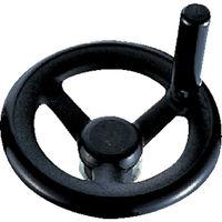 イマオコーポレーション(IMAO) 丸リム型エンプラハンドル車(回転握り付き)250 RP250ER 1個 105-8436 (直送品)