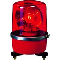 パトライト パトライト SKPーA型 中型回転灯 Φ138 赤 SKP101A 1台 100ー6819 (直送品)