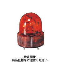 パトライト(PATLITE) パトライト SKH-A型 小型回転灯 Φ118 オールプラスチックタイプ 色:赤 SKH-120A-R 100-4590(直送品)