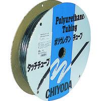 千代田通商 チヨダ メガタッチチューブ 6mm/100m 黒 MTP6100 1巻 158ー9512 (直送品)