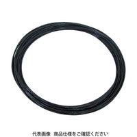 千代田通商 チヨダ TPタッチチューブ 10mmX100m 黒 TP10X6.5100 1巻 158ー9458 (直送品)