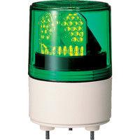 パトライト パトライト RLE型 LED超小型回転灯 Φ82 RLE100G 1台 323ー9543 (直送品)
