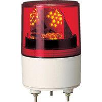 パトライト(PATLITE) RLE型 LED超小型回転灯 Φ82 RLE-100-R 1個 323-9551 (直送品)