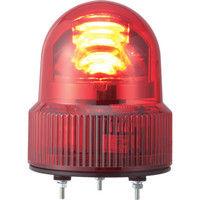 パトライト(PATLITE) SKHE型 LED回転灯 Φ118 オールプラスチックタイプ SKHE-24-R 1個 323-9594 (直送品)