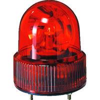 パトライト(PATLITE) SKH-A型 小型回転灯 Φ118 オールプラスチックタイプ 赤 SKH-101A R 1個 100-4506 (直送品)