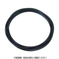 千代田通商 チヨダ メガタッチチューブ 4mm/20m 黒 MTP420 1巻 161ー6013 (直送品)