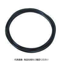 千代田通商 チヨダ メガタッチチューブ 4mm/100m 黒 MTP4100 1巻 161ー6021 (直送品)