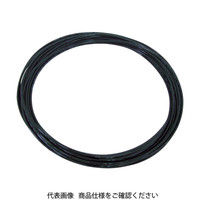 千代田通商 チヨダ TPタッチチューブ 4X2.5/100m 黒 TP4X2.5100 1巻 158ー9393 (直送品)