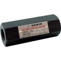 ダイキン工業(DAIKIN) インラインチェック弁 HDIN-T06-05 1個 101-6792 (直送品)