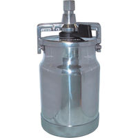 CFTランズバーグ デビルビス 吸上式塗料カップアルミ製レバータイプ(容量1000cc)G3/8 KR-555-1 1個 324-8488 (直送品)