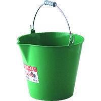リス興業(RISU) ラバケット14L 緑 14L GN 1個 250-9229 (直送品)