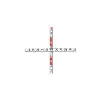 マイゾックス(Myzox) 検測ロッド(クロス標尺) K-110 1組 246-8255 (直送品)
