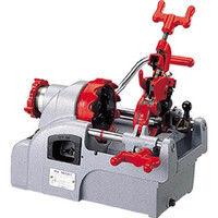 レッキス工業 REX 自動切上ダイヘッド付パイプマシン NS25A3 NS25A3 1台 120ー5226 (直送品)