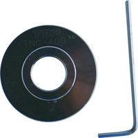 トップ工業(TOP) 電動ドリル用内径カッター ガイド板 TNC-40G 1丁 248-7870 (直送品)