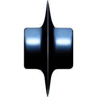 レッキス工業(REX) カッター替刃 C-1・2兼用 K-2W 1個 122-9842 (直送品)