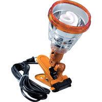 ハタヤリミテッド ハタヤ 軽便蛍光灯ランプ 単相100V 23W 電線5m 黄色 KF23Y 1台 287ー6779 (直送品)
