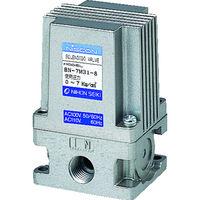 日本精器 日本精器 3方向電磁弁8AAC100V7Mシリーズ BN7M318E100 1台 104ー5580 (直送品)