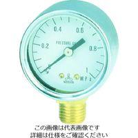 日本精器 日本精器 圧力計40mm1/4 PG40A10K 1個 103ー6238 (直送品)