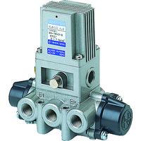 日本精器 日本精器 4方向電磁弁8AAC100V7Mシリーズシングル BN7M438E100 1台 104ー5512 (直送品)