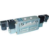 CKD(シーケーディー) 4Fシリーズパイロット式5ポート弁セレックスバルブ 4F120-08-AC200V 1台 110-4047 (直送品)