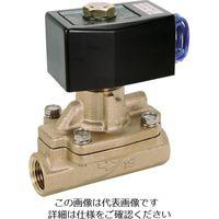 CKD(シーケーディー) パイロット式2ポート電磁弁(マルチレックスバルブ) AD11-20A-03A-AC100V 1台 110-2737 (直送品)