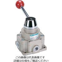 CKD CKD 手動切換弁 HMVC284H 1個 112ー4781 (直送品)
