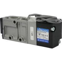 日本精器 日本精器 4方向電磁弁8AAC100Vグロメット7Vシリーズシングル BN7V438GE100 1台 104ー5296 (直送品)