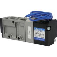 日本精器 日本精器 4方向電磁弁8AAC200Vグロメット7Vシリーズシングル BN7V438GE200 1台 104ー5300 (直送品)