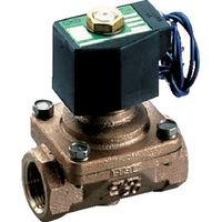 CKD(シーケーディー) パイロットキック式2ポート電磁弁(マルチレックスバルブ) ADK11-25A-02C-AC100V 1台 110-3831 (直送品)