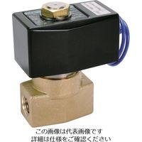 CKD(シーケーディー) パイロット式2ポート電磁弁(マルチレックスバルブ) AD11-8A-03A-AC100V 1個 209-1097 (直送品)