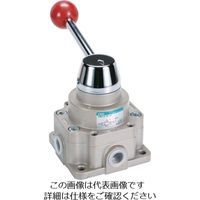 CKD CKD 手動切換弁 HSVC284H 1個 112ー4790 (直送品)