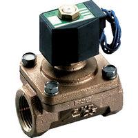 CKD(シーケーディー) パイロットキック式2ポート電磁弁(マルチレックスバルブ) APK11-20A-02C-AC100V 1台 110-3253 (直送品)