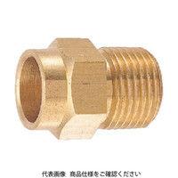 カクダイ カクダイ フレキ接続銅管アダプター 618213X12.7 1個 226ー9694 (直送品)