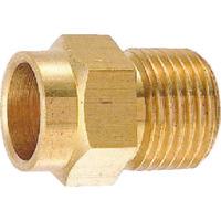 カクダイ フレキ接続銅管アダプター 6182-13X15.88 1個 226-9708 (直送品)
