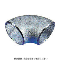 日鉄住金機工 住金 白鋼管製エルボショート90° G90SSGP40A 1個 160ー1261 (直送品)