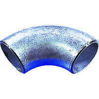 日鉄住金機工 住金 白鋼管製エルボロング90° G90LSGP15A 1個 160ー0290 (直送品)