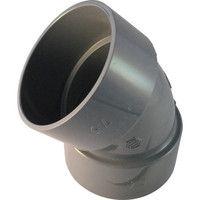 積水化学工業 エスロン DV継手45°エルボ 75 D4L75 1個 254ー4318 (直送品)