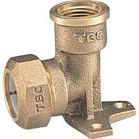 タブチ TBC 座付水栓エルボ1種13mm 13PZA1 1個 282ー2911 (直送品)