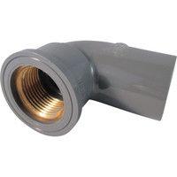 積水化学工業 エスロン TS継手 インサート給水栓用エルボ20 IWL202 1個 254ー3818 (直送品)