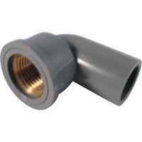 積水化学工業 エスロン TS継手 インサート給水栓用エルボ13 IWL13 1個 254ー3788 (直送品)