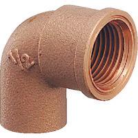 カクダイ 銅管用水栓エルボ 6192-P13X15.88 1個 226-9937 (直送品)