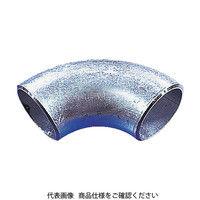 日鉄住金機工 住金 白鋼管製エルボロング90° G90LSGP80A 1個 160ー0508 (直送品)