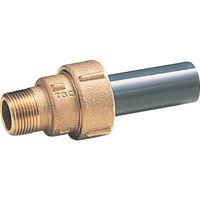 タブチ TBC 塩ビ伸縮継手オネジ20mm 20EGM 1個 282ー2423 (直送品)