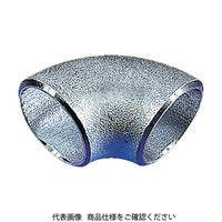 日鉄住金機工 住金 白鋼管製エルボショート90° G90SSGP80A 1個 160ー1318 (直送品)