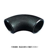 日鉄住金機工 住金 鋼管製エルボロング90° 90LSGP80A 1個 161ー2735 (直送品)