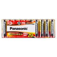 パナソニック アルカリ乾電池単3 LR6XJ/20SW 1パック(20本入)